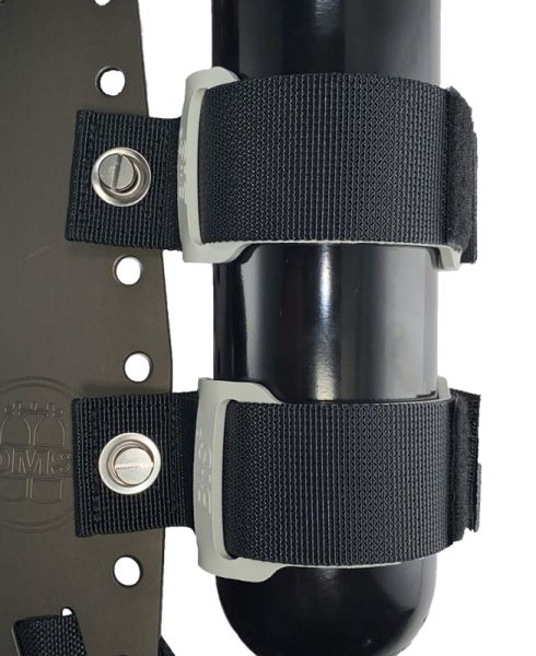 BtSMounting Straps Set (attaches to backplate), for cylinders with 90mm diameter or less
