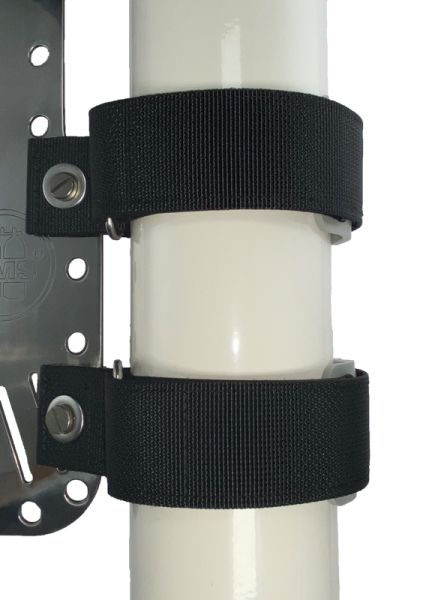 BtSMounting Straps Set (attaches to backplate), for cylinders with 115mm diameter or less