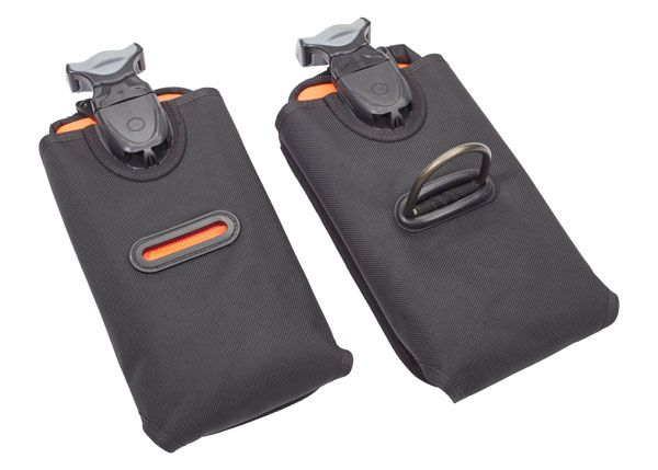 horizontal replacement weight pockets pair