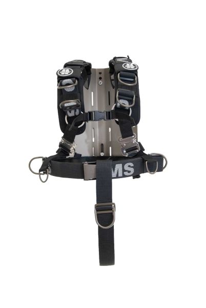 Edelstahl Backplate mit Comfort Harness System III