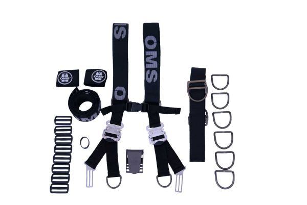 OMS Comfort Harness III Rigging Kit Aluminium