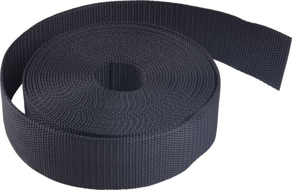 "2 "" Nylon Webbing, medium stiffness (25 ft. package)"