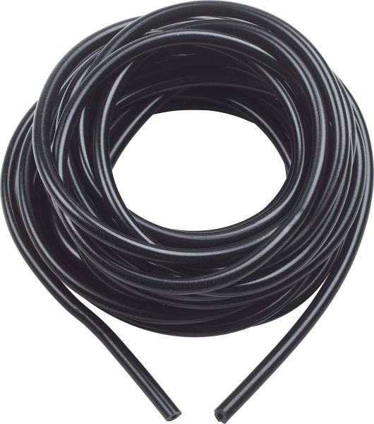 "1/4"" Silicone Tubing-- BLACK ONLY per meter (3,3 ft)"