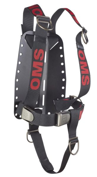 AL backplate with complete Continues Weave (DIR) Secure Harness and Crotch Strap